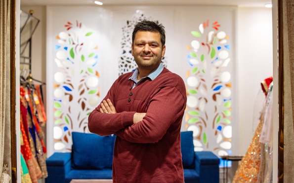 Photo of Sameer Manglani, COO of Meena Bazaar