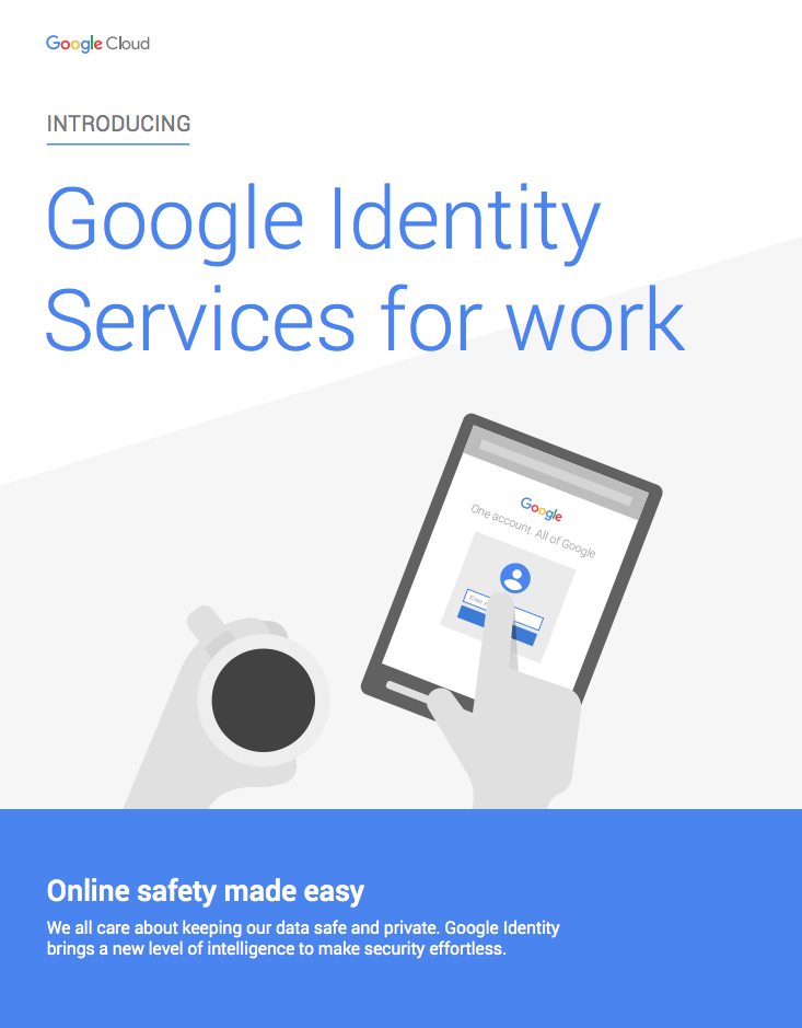 Google Identity Services for work