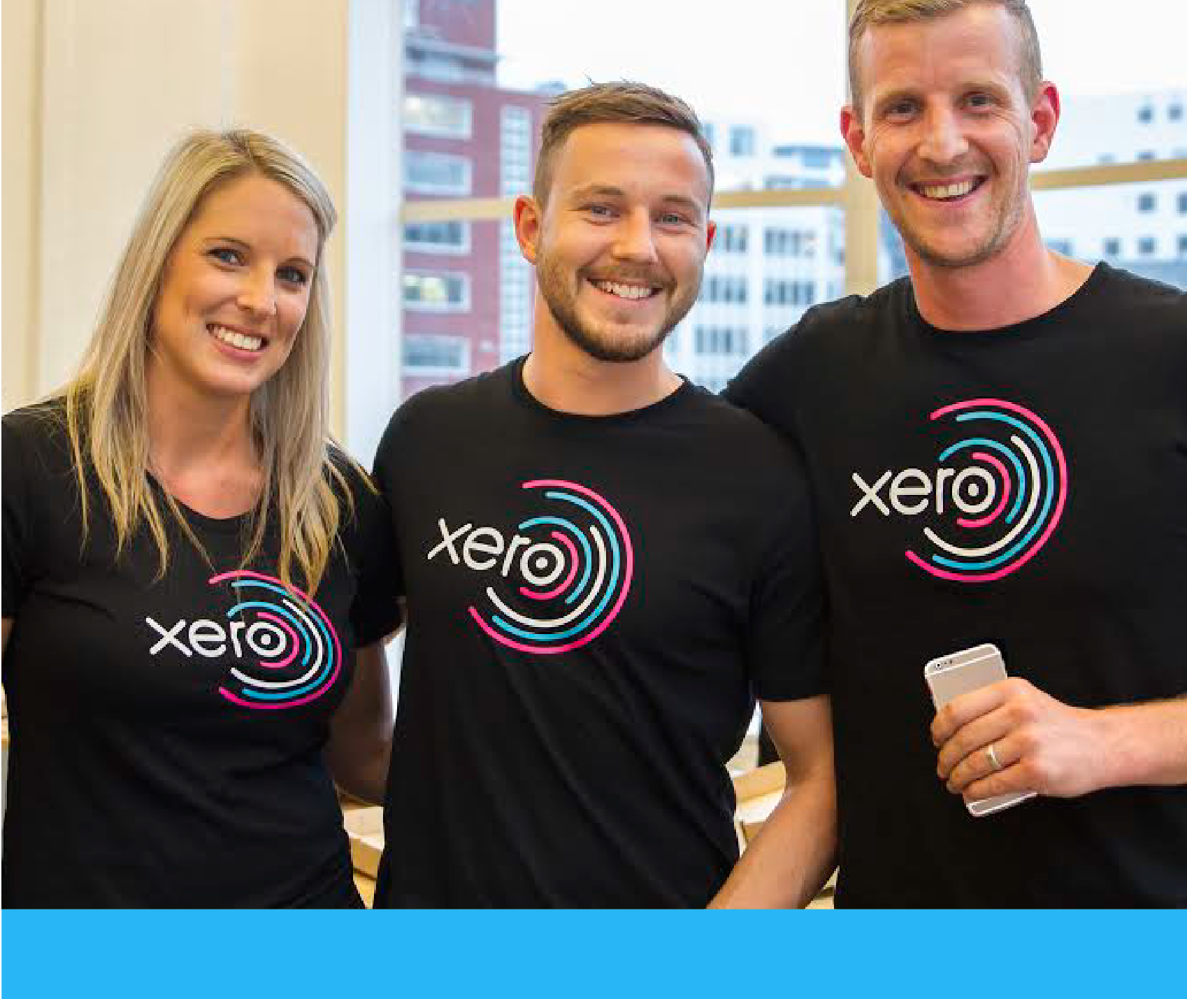 3 members of the Xero team